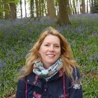 Chantal at Coton Manor Bluebell Wood